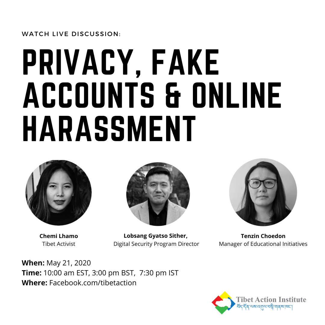 Privacy, Fake Accounts & Online Harassment