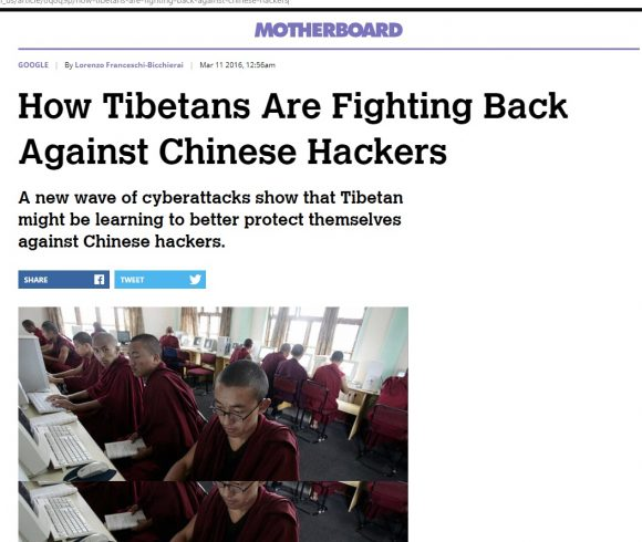 How Tibetans Are Fighting Back Against Chinese Hackers