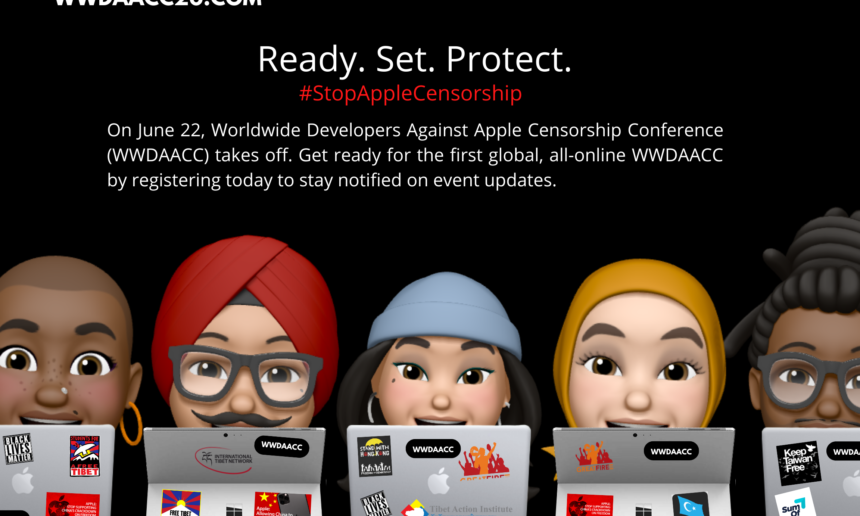 Technology, Human Rights, Freedom of Expression Activists & Prominent Artists to Expose Apple Censorship