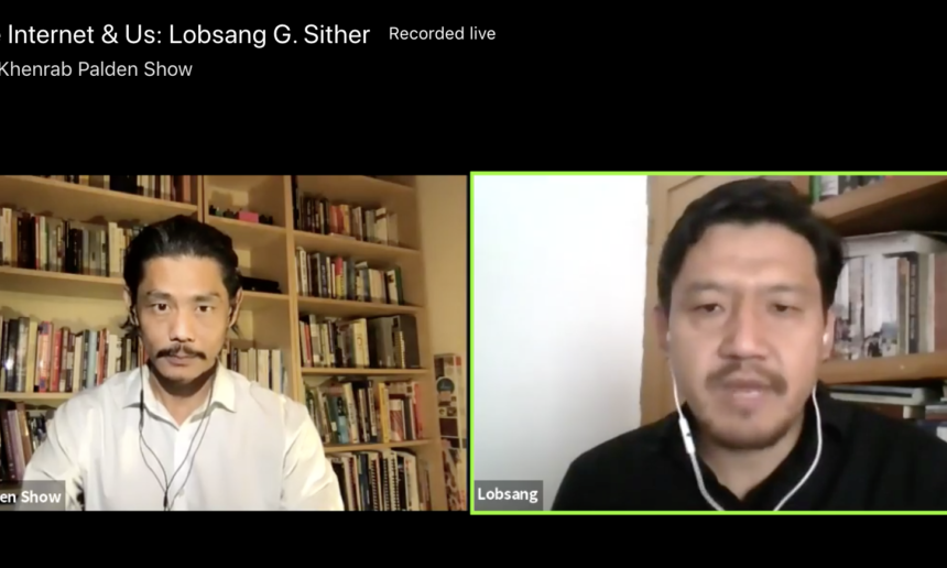 Interview with Lobsang Sither on The Khenrab Palden Show