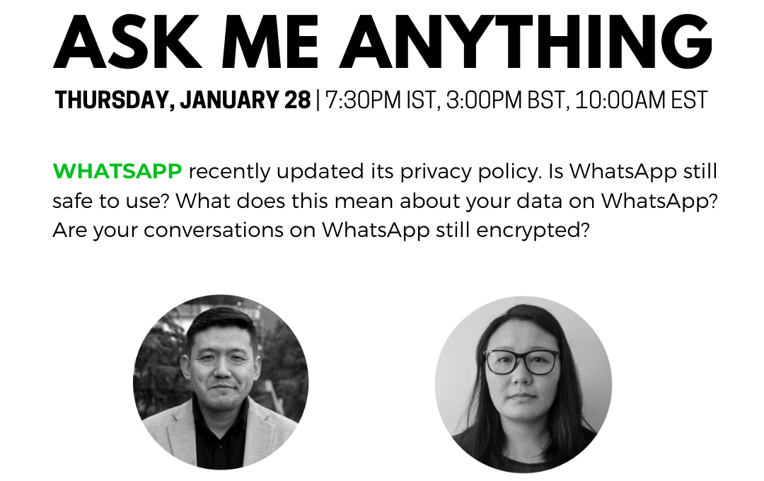 ASK ME ANYTHING: WhatsApp's Privacy Policy